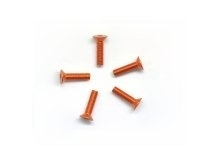 AM-14CS3012-O Alu Screw allen countersunk M3x12 Orange (7075) (5)