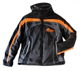 Winter jacket Serpent black-orange hooded (4XL) (#190208)