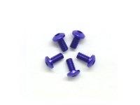 AM-14RH3006-P Alu Screw allen roundhead M3x6 Purple (7075) (5)