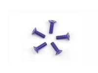 AM-14CS2508-P Alu Screw allen countersunk M2.5x8 Purple (7075) (5)