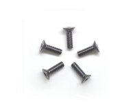 AM-14CS3010-G Alu Screw allen countersunk M3x10 Gray (7075) (5)