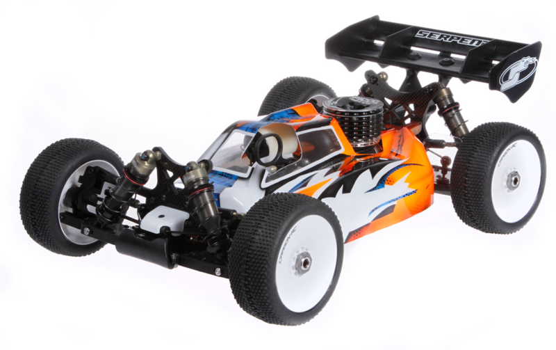 Cobra SRX8 buggy 1/8 GP (#600017)
