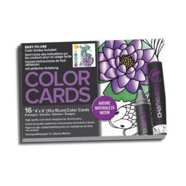color cards nature