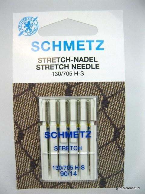 Schmetz stretchnaalden nr.90
