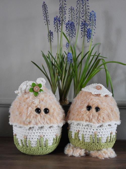 Funny Furry Eggy boy or girl (pakket voor 1 ei naar keuze jongen of meisje