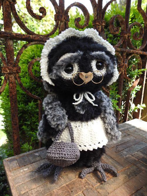 Haakpakket Funny Furry Owl Molly