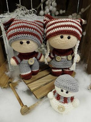 Haakpakket Funny Snowy set