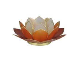 lotus waxinelicht klein mix rood