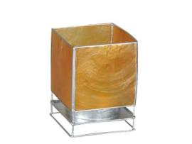 Waxinelichtje oranje