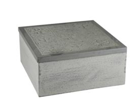 houten doosje in grijs