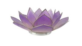 lotus waxinelicht groot lila