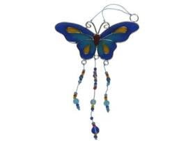 kleine vlindermobile van glas