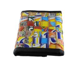 Portemonnee van doy-sap verpakking