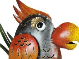 vogel van metaal