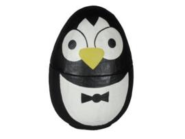 Ei met pinguin-motief