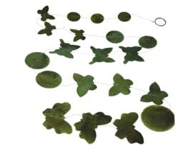 versiering vlinder groen