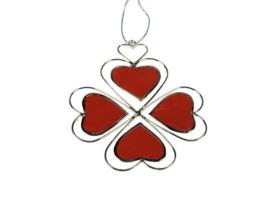 hanger van vier hartjes in een geheel