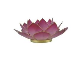 lotus waxinelicht groot roze