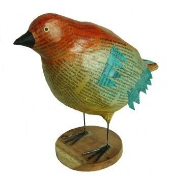 Rood/oranje vogel