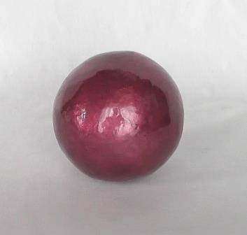 Decoratieve bal burgundy