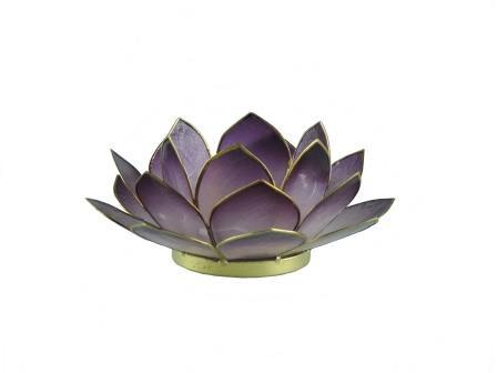 waxinelicht lotus klein paars
