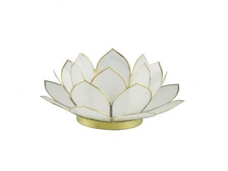 waxinelicht lotus klein wit