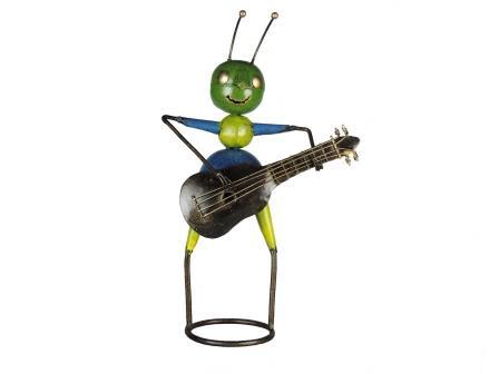 mier met gitaar