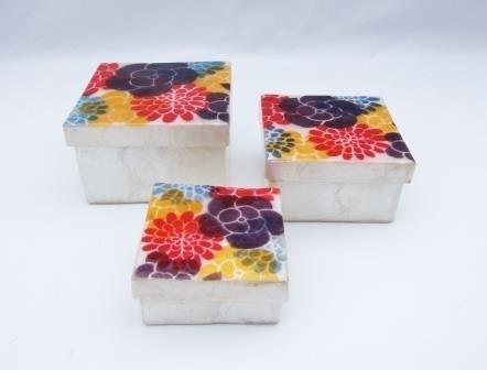 Set doosjes Rainbowflower