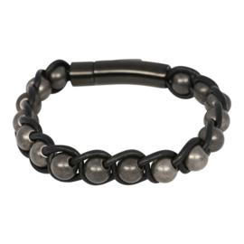 IBR56-07 Armband Antiek-Zwart