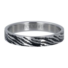R5406-03 Zebra 4mm Silver