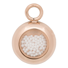C42201-02 Charm White Balls Rose