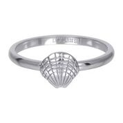R3508-03 Sea Shell 2mm Silver