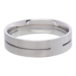IXXXI Steel Ring R01 Mat Staal