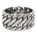 IXXXI Steel Ring IXR008 Silver