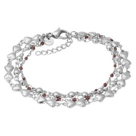Bracelets Botswana Silver