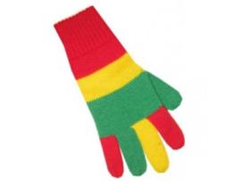 Handschoenen Rood-Geel-Groen