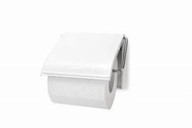 Toiletrol houder wit