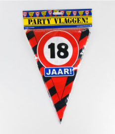 Party Vlag 18jr