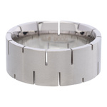 IXXXI Steel Ring R07 Mat Staal