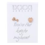 IJKO01-2 Key Heart Rose