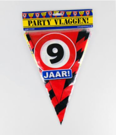 Party Vlag 9jr
