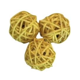 Brunchball Geel 4cm