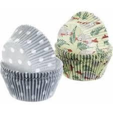 Papieren Cupcake Bakvorm set  80 stuks