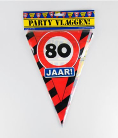 Party Vlag 80jr