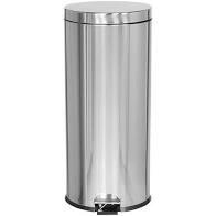 Afvalemmer RVS 30 Liter