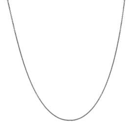 Collier Los Zwart Div. Lengtes 1mm