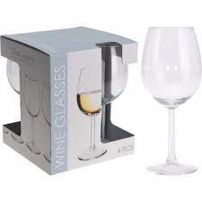 Wijnglazen 43 CL Set 4