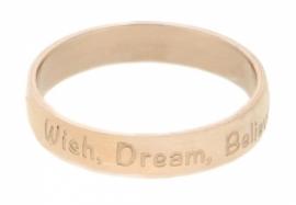 R2108-2 Wish Dream Believe Rose 4mm