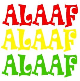 Raamsticker Alaaf (Set3)