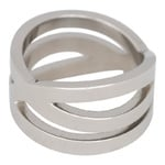 IXXXI Steel Ring IXR014 Silver
